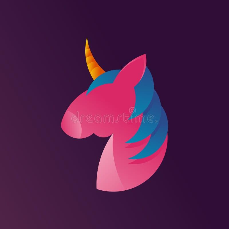 Unicorn Startup, Business, Rocket, Startup Mobile App Button