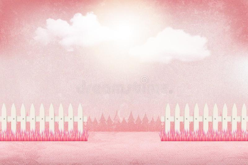 Beautiful pink Valentine`s day background stock image