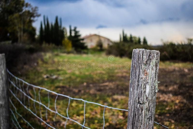 A beautiful place in Tuscany royalty free stock image