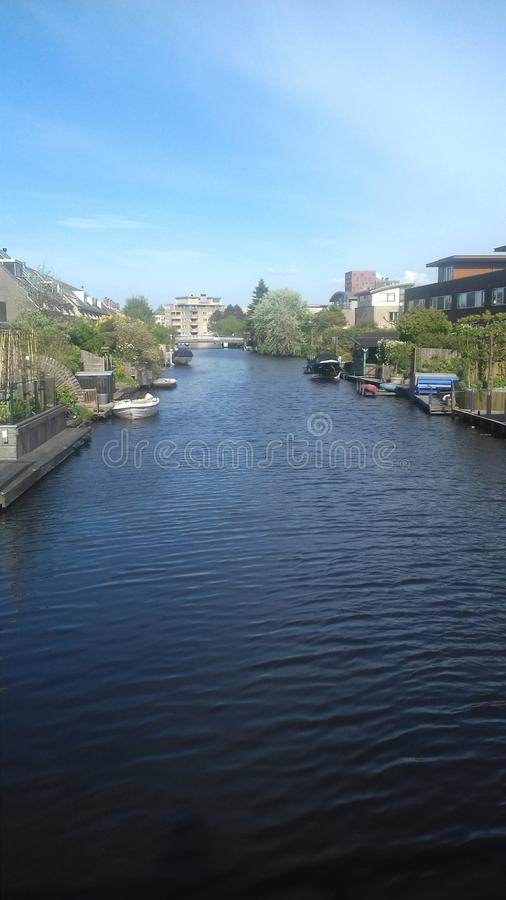Beautiful places in Netherlands lakes in zaandam, Amsterdam. Beautiful places, travel, unique place, amazing views in zaandam Netherlands Amsterdam royalty free stock photo