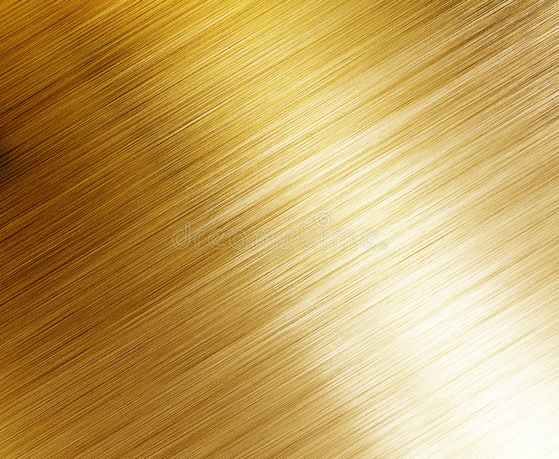 Beautiful polished gold texture stock photography