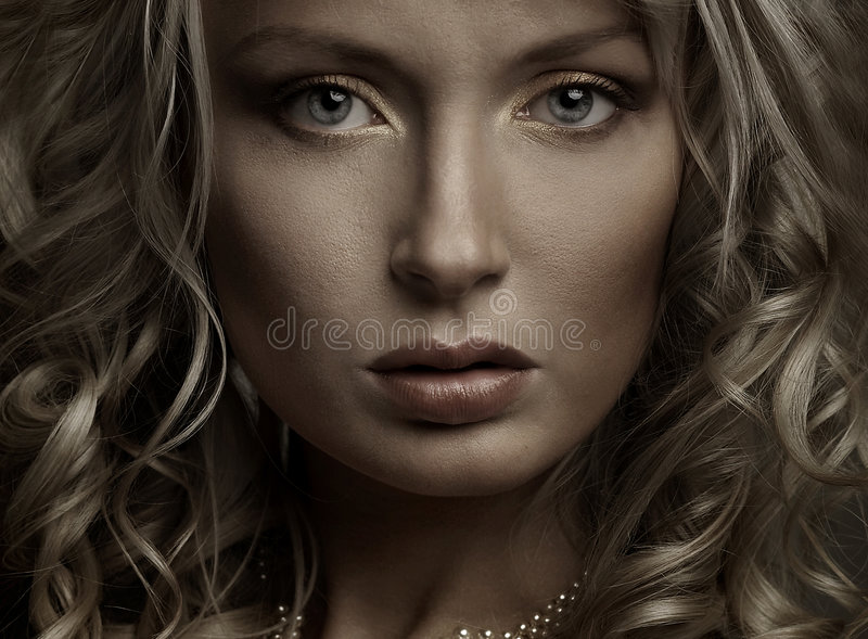 Download Beautiful portrait stock image. Image of young, vogue - 9004875