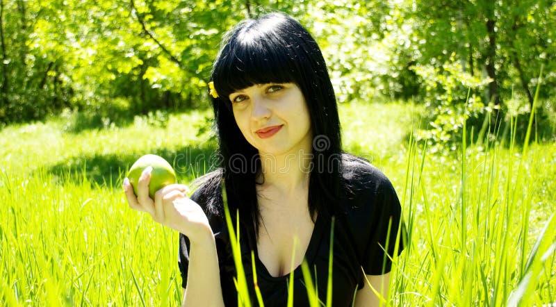 beautiful portrait woman стоковое изображение