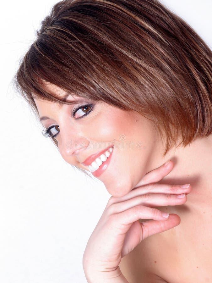 beautiful portrait woman στοκ εικόνα με δικαίωμα ελεύθερης χρήσης