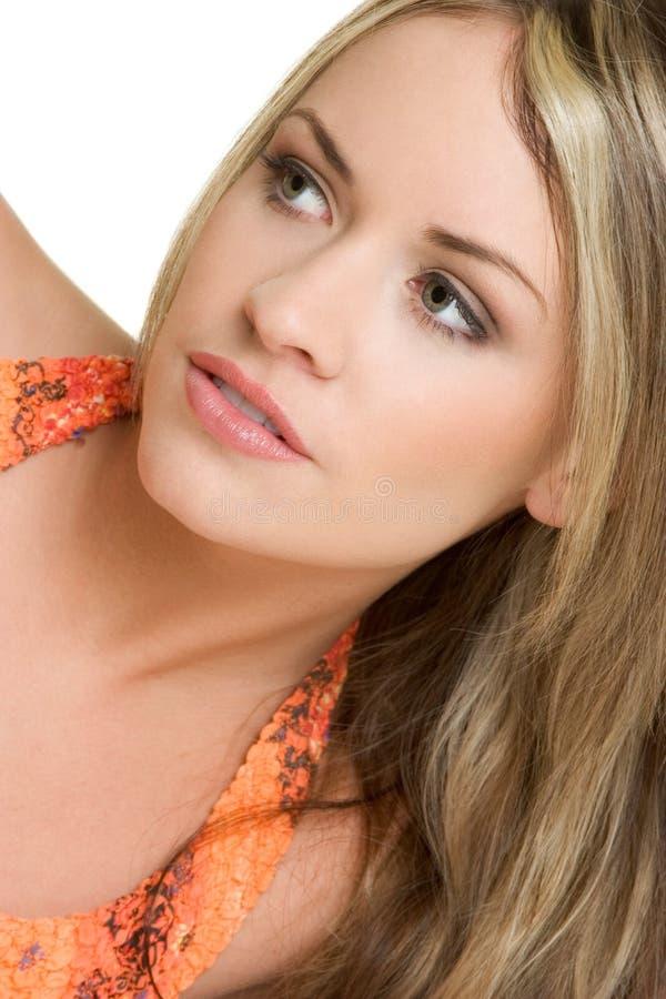 Beautiful Portrait Woman royalty free stock photo