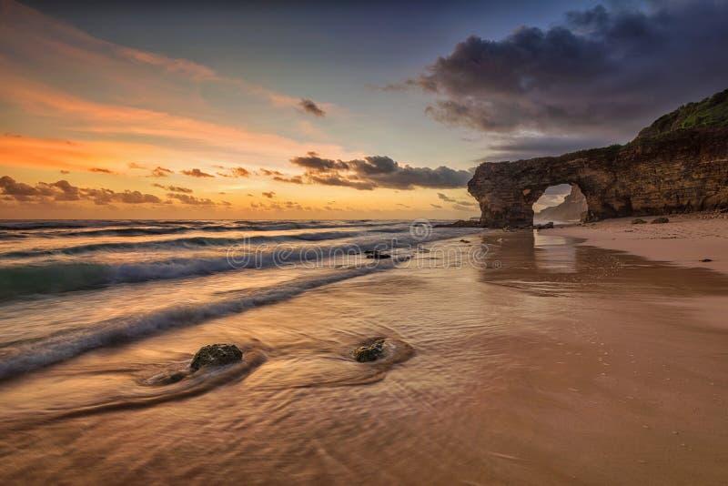 Bawana Beach, Sumba Island, Indonesia royalty free stock photography