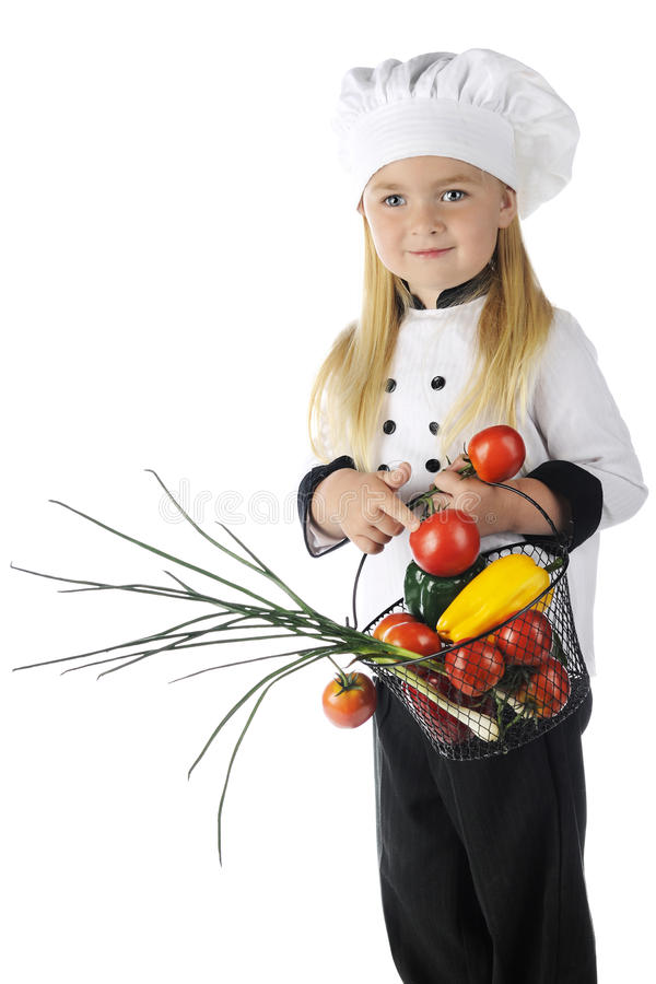 Free Beautiful Preschool Chef Royalty Free Stock Photography - 31750227