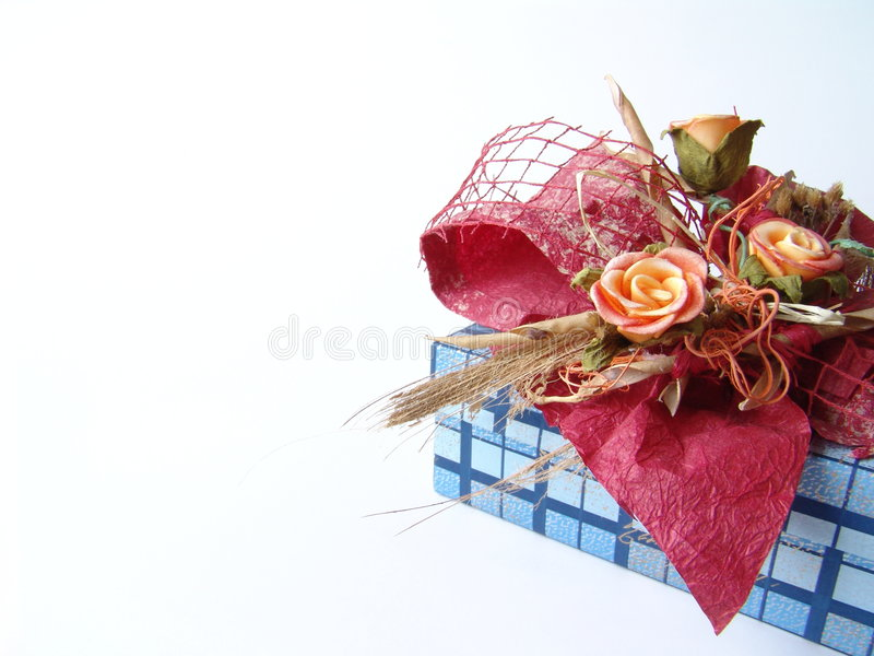 Download Beautiful present box stock photo. Image of gift, ornament - 227690