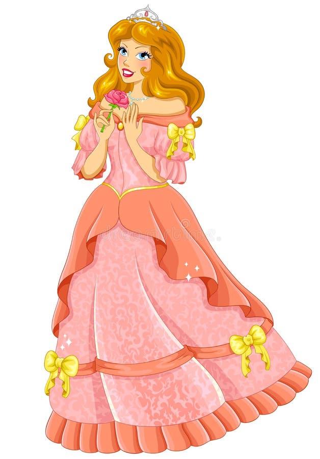 Beautiful Princess Stock Vector - Image: 40458517  Beautiful Pink Princess Dresses