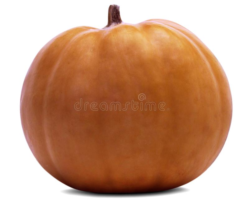 The Beautiful Pumpkin is isolated over white and transparent background (Optional PNG file). Can be used for the concept of Organic Farming, Harvest stock photos