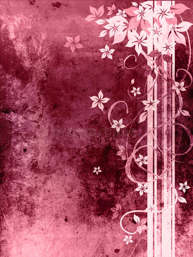Download Beautiful Purple Grungy Background Stock Illustration - Image: 22153209