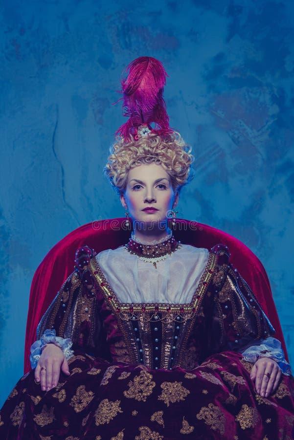 Download Beautiful queen stock photo. Image of history, elisabeth - 31920294