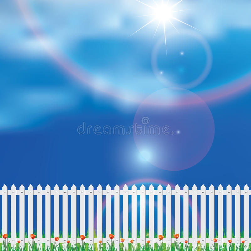 Download Beautiful realistic spring stock vector. Image of grass - 37643819