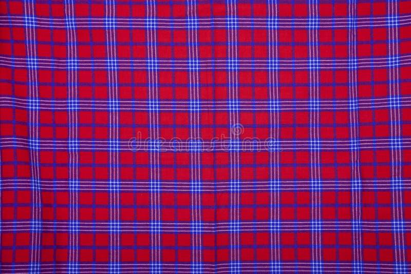 Download Beautiful Red Masai Blanket Stock Photo - Image: 21934208
