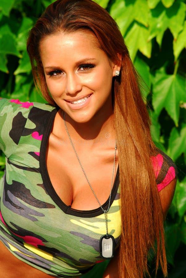 Beautiful model redhead