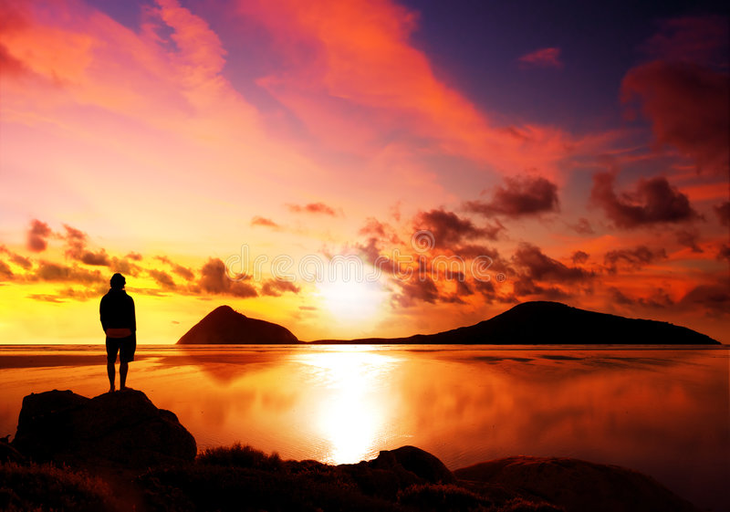 Download Beautiful Reflection Royalty Free Stock Photos - Image: 4521868