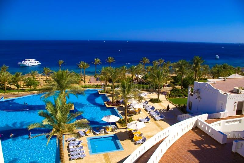 Download Beautiful resort beach stock photo. Image of recreational - 2814394