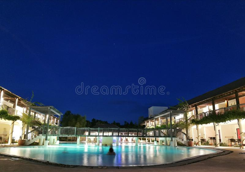 Beautiful Resort. A photo of a beautiful serene place stock photography