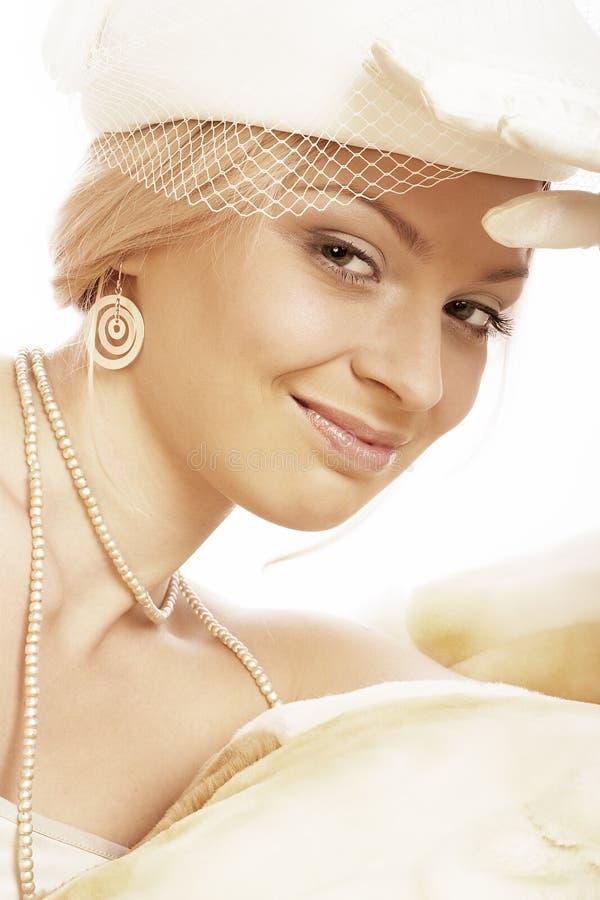Download Beautiful Retro. stock image. Image of beautiful, face - 454671