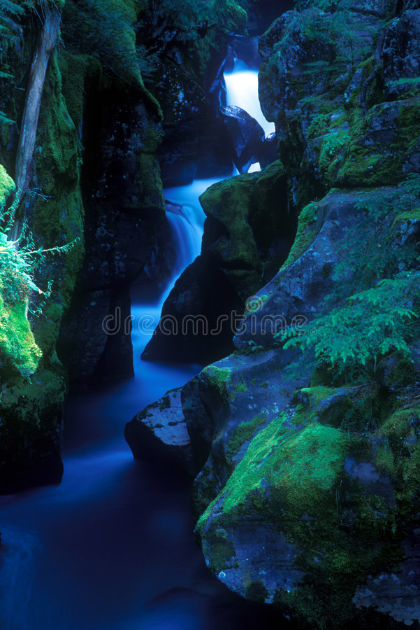 Beautiful River Gorge royalty free stock photos