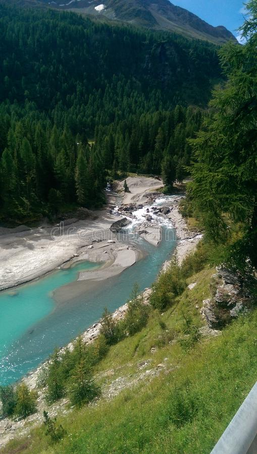 Beautiful river royalty free stock photography