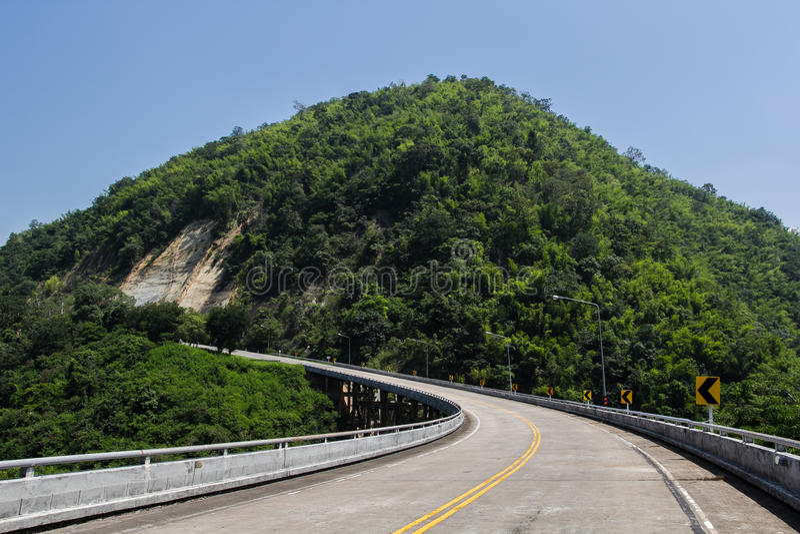 Beautiful road stock photos
