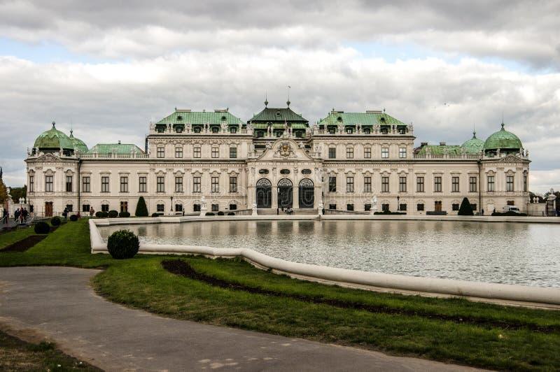 Beautiful royal palace Schönbrunn royalty free stock images