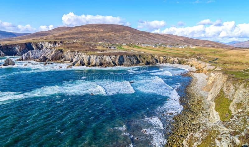 Beautiful rural irish country nature landscape from ireland royalty free stock image