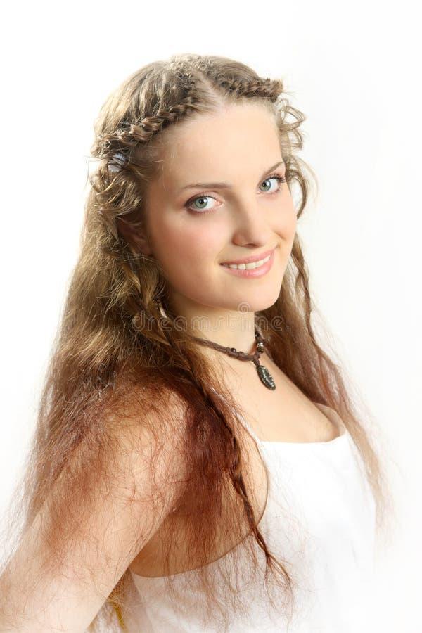 The beautiful Russian girl