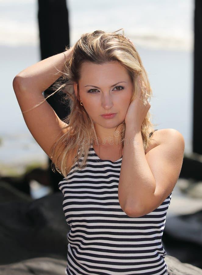 Download A beautiful russian girl stock photo. Image of beach - 11339146