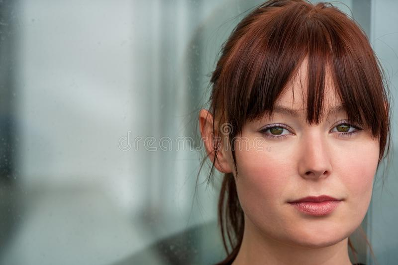 Sad Depressed Thoughtful Female Girl Young Woman royalty free stock photos