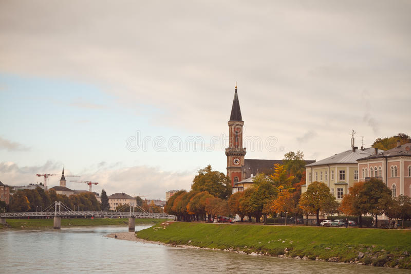Download Beautiful Salzburg stock image. Image of salzach, cathedral - 34948093