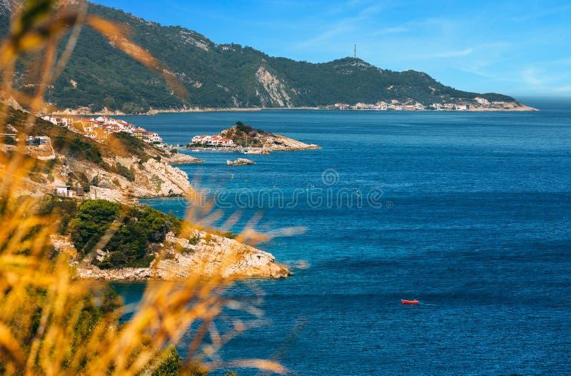 Samos island royalty free stock images