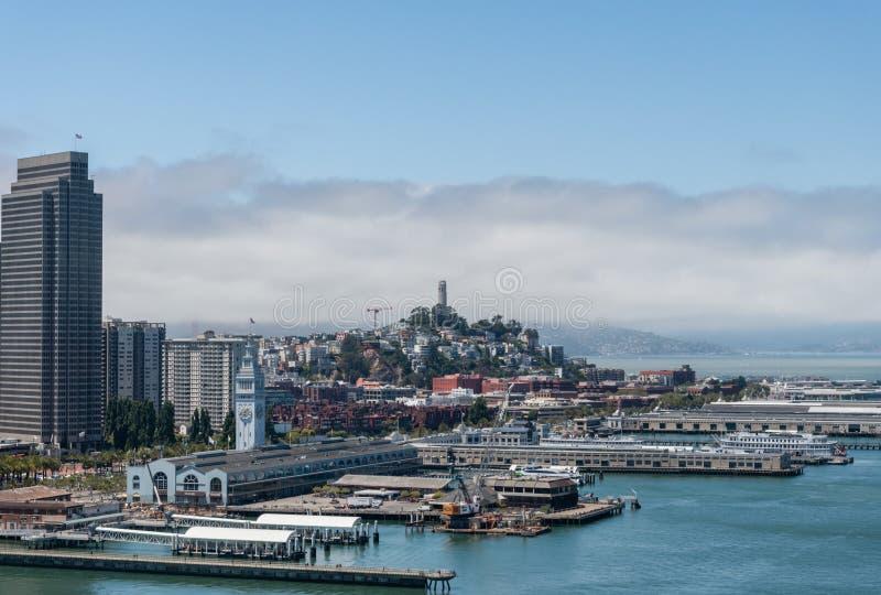 Beautiful San Francisco vista, Northern California stock photos