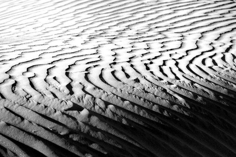 Beautiful Sand Dune Formations in Death Valley California royalty free stock photo