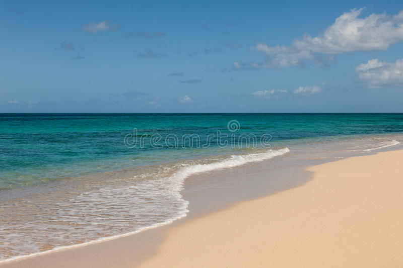 Download Beautiful Sandy Tropical Beach And Ocean Seascape Stock Image - Image: 25869541
