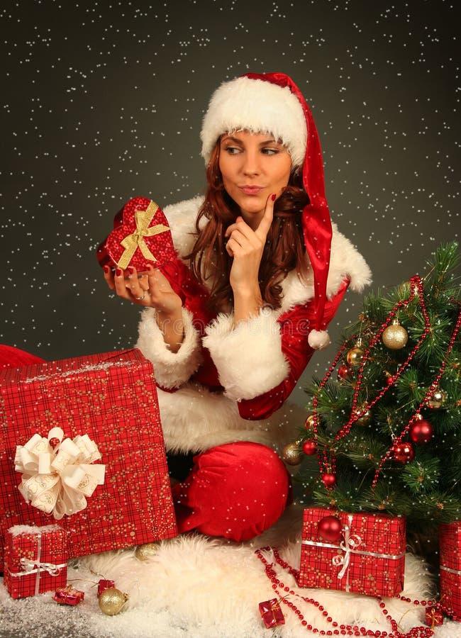 Download Beautiful Santa stock image. Image of pretty, ornamant - 21914469