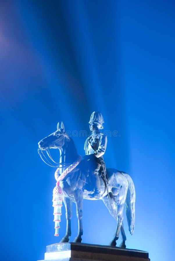 Download Beautiful Scene Of King Rama V Statue Stock Photo - Image of king, light: 25398910