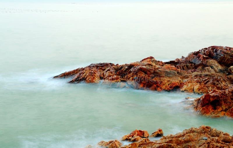 The beautiful scenery of the beach in shantou nanao island ,guangdong, china stock photography