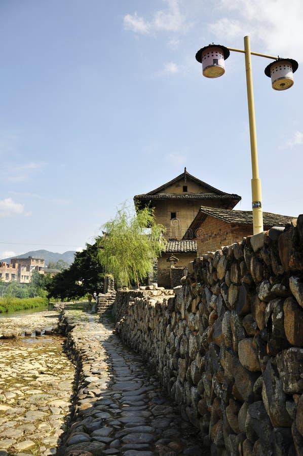 Beautiful scenery in Fujian stock image
