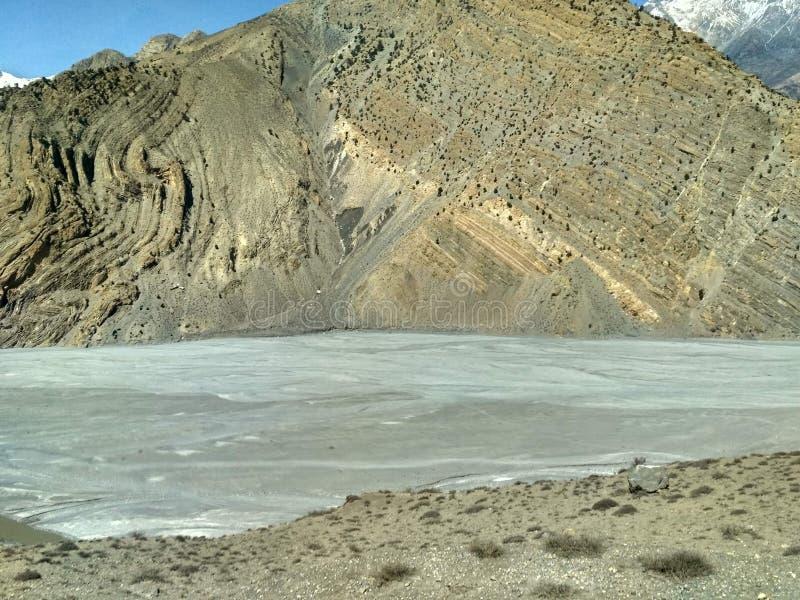 Beautiful scenery of Gandaki River Nepal stock images