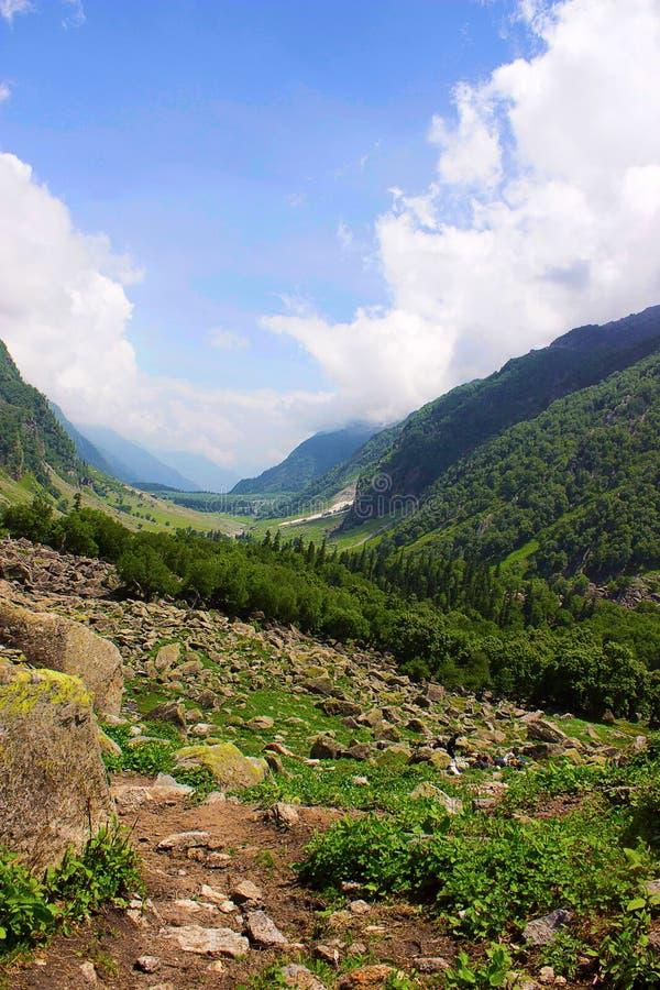 Beautiful scenery. Himachal Pradesh stock photography