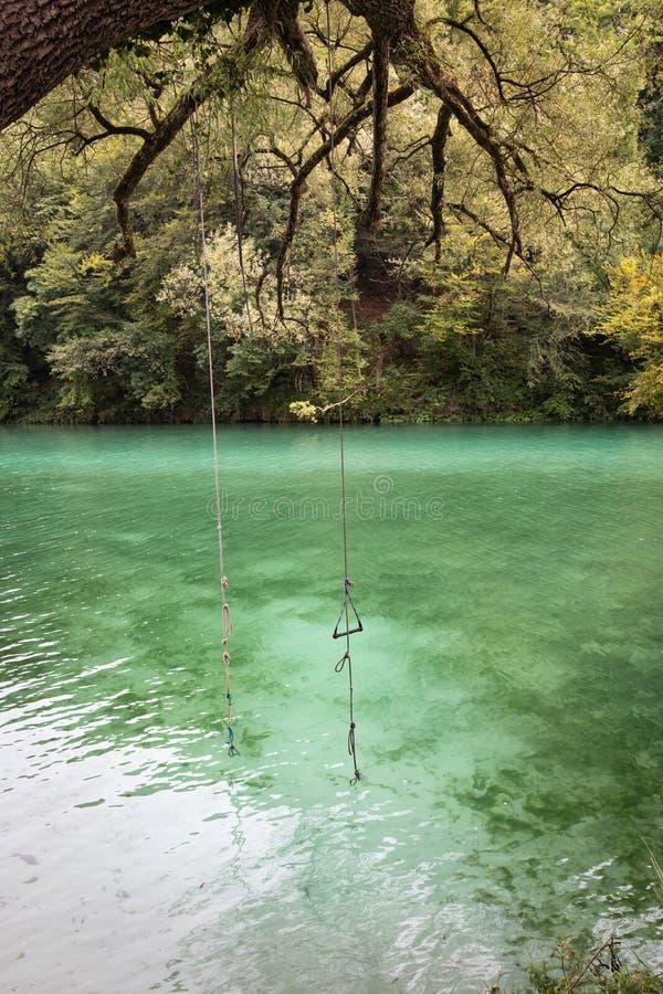 Beautiful scenic landscape view on river soca in slovenia. Beautiful scenic landscape view on river soca stock image