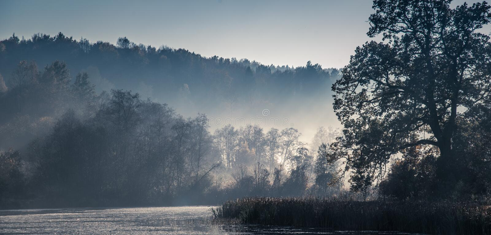 Beautiful scenic nature landscape royalty free stock photos