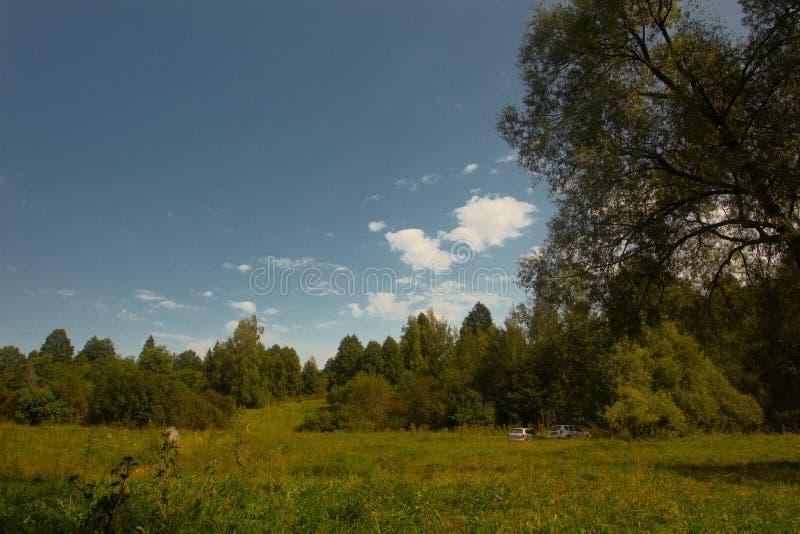 Beautiful scenic views on hot summer days.  stock photos