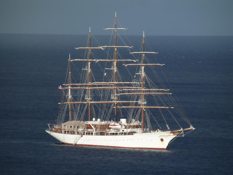 Download Beautiful Sea Cloud With Sails Furled. Stock Image - Image: 36437503