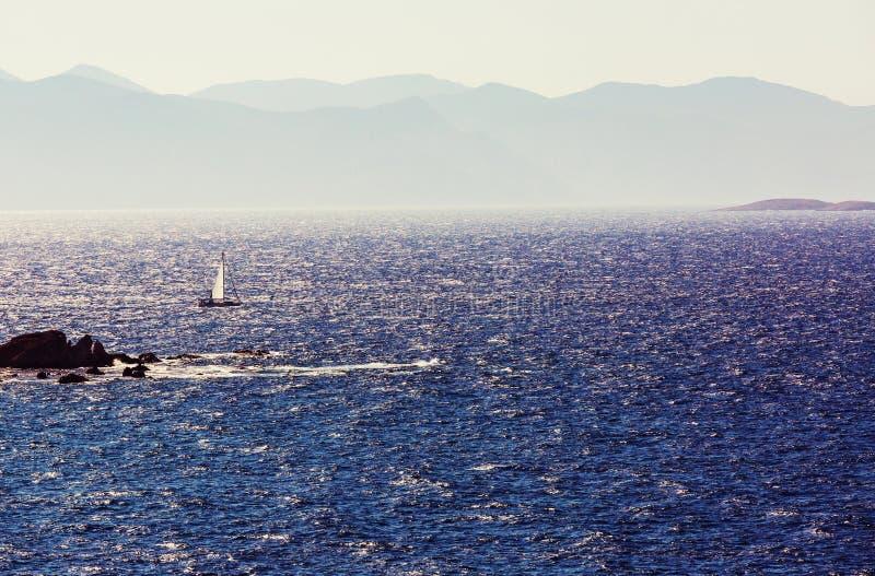Turkey coast. Beautiful sea coast in Turkey royalty free stock image