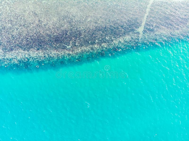 Beautiful Sea and Ocean water surface and textures royalty free stock image