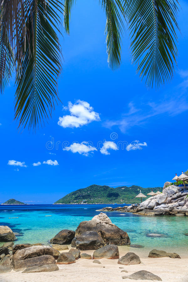 Download Beautiful Sea On Tropical Island With Crystal Clear Water Stock Photo - Image: 34382478
