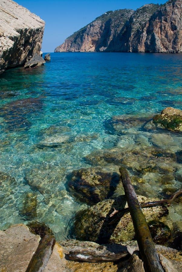 Beautiful sea view royalty free stock photos